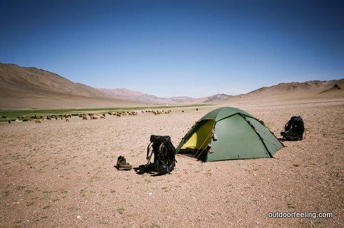 Hilleberg Staika in der Mongolei