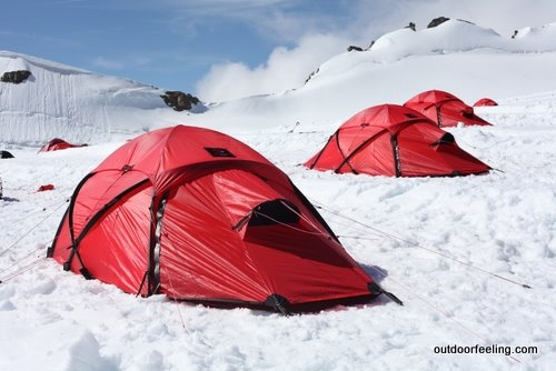 Hilleberg Saivo auf dem Jungfraujoch
