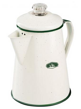 GSI Kaffeekanne 8 Cup Percolator Cream