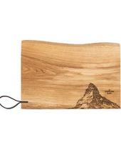 PanoramaKnife-Matterhorn-Holz-Schneidebrett-Rustikal