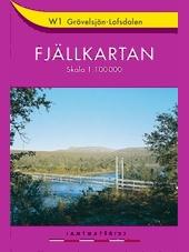 Fjällkarten-W-1-Grövelsjön-Lofsdalen