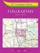 Fjällkarten-Z57-Funäsdalen-Fjällnäs